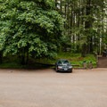 Ample parking at the trailhead.- Spencer Butte Hike