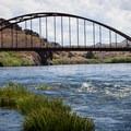 The bridge at clarno.- John Day River: Clarno to Cottonwood Bridge