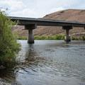 Cottonwood Bridge.- John Day River: Clarno to Cottonwood Bridge