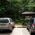 The Wyeth Campground Trailhead.- Gorge Trail #400 Hike