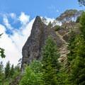 Elephant Rock.- Gold Point Trail