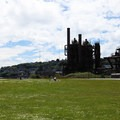The remains of the Seattle Gas Light Company gasification plant.- Gas Works Park