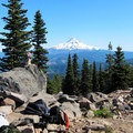 View from the summit.- Mount Defiance Hike