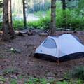 Camping at Warren Lake.- Mount Defiance Hike