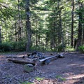 Camping near Warren Lake.- Mount Defiance Hike