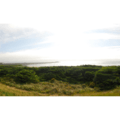 Panoramic view looking out toward the north jetty.- Barview Jetty County Park