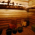 The store room at Fort Clatsop.- Fort Clatsop