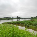 View southeast across the Lewis and Clark (Netul) River.- Netul River/South Slough Loop Trail