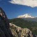Mount Shasta (14,179').- Castle Crags Dome Hike