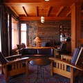 Crater Lake Lodge's Great Hall.- Crater Lake Lodge