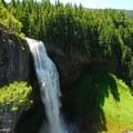 Salt Creek Falls from the upper viewpoint.- Salt Creek Falls