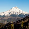 Mount Hood (11,249').- Oval Lake + Palisade Point via Lookout Mountain/Divide Trail