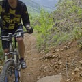 The steep climb to the summit of Eagles Rest.- Eagles Rest Trail Mountain Bike Ride