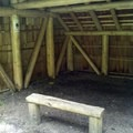 The inside of Ash Swale Shelter.- Eagles Rest Trail Mountain Bike Ride