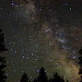 Beautiful stargazing and views of the Milky Way.- Candle Creek Campground