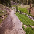 Trail to Plaikini Falls.- Plaikni Falls Trail