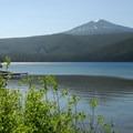 Walupt Lake and Lakeview Mountain (6,660').- Walupt Lake Campground
