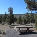 Trailhead picnic area.- Horse Ridge