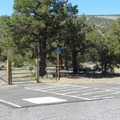The parking area at the Horse Ridge.- Horse Ridge