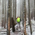 Inclement weather can be expected through the spring.  Come prepared for snow.- Ruckel Ridge Loop Hike