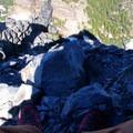 Looking down from Mount Washington- Mount Washington