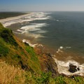 View south from North Head Lighthouse toward Benson Beach- Cape Disappointment State Park
