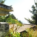 World War II bunker at Bell's View.- North Head Lighthouse + Bell's View