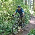 Hardesty Mountain Trail.- South Willamette Trail + Lower Hardesty Mountain Bike Ride