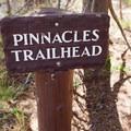 Pinnacles Trailhead.- The Pinnacles