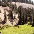 View of Annie Creek the Pinnacles.- Annie Creek Canyon Loop Trail