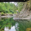 Naked Falls on the Washougal River.- Naked Falls on the Washougal River