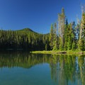 Waldo Lake's Shadow Bay.- Waldo Lake, Shadow Bay Campground