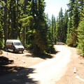 North Waldo Campground.- Waldo Lake, North Waldo Campground