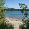 Cottonwood Beach.- Columbia River: Reed Island Channel