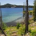 Waldo Lake.- Waldo + Rigdon Lakes Hike