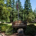 Feyrer Park entrance.- Feyrer Campground