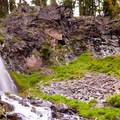 Plaikni Falls.- Crater Lake National Park
