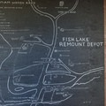 A map of the area.- Fish Lake Remount Depot