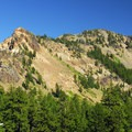 Garfield Peak from Crater Lake Lodge.- Garfield Peak Hike