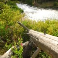 Fall River Falls.- LaPine State Park