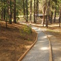 LaPine State Park day use area.- LaPine State Park