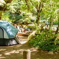 Typical campsite.- House Rock Campground