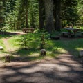 Some sites are close and better for groups.- Lost Prairie Campground