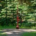 Potable water at Lost Prairie Campground.- Lost Prairie Campground