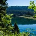 Carmen Reservoir from the McKenzie River Trail.- McKenzie River Trail