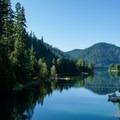 Blue River Reservoir.- Mona Campground