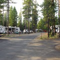 LaPine State Park Campground.- LaPine State Park Campground