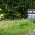 The entrance to Lookout Boat Ramp and Campground- Lookout Boating Site + Campground