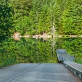 Lookout Boat Ramp at Blue River Reservoir.- Lookout Boating Site + Campground
