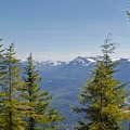 Small vistas reveal themselves as you continue to climb the trail.- Mount Si Hike